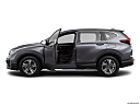 2020 Honda CR-V LX, driver's side profile with drivers side door open.