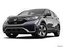 2020 Honda CR-V LX, front angle view, low wide perspective.