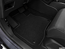 2020 Honda CR-V LX, driver's floor mat and pedals. mid-seat level from outside looking in.