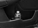 2020 Honda CR-V LX, second row side cup holder with coffee prop, or second row door cup holder with water bottle.