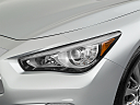 2020 Infiniti Q50 3.0t LUXE, drivers side headlight.