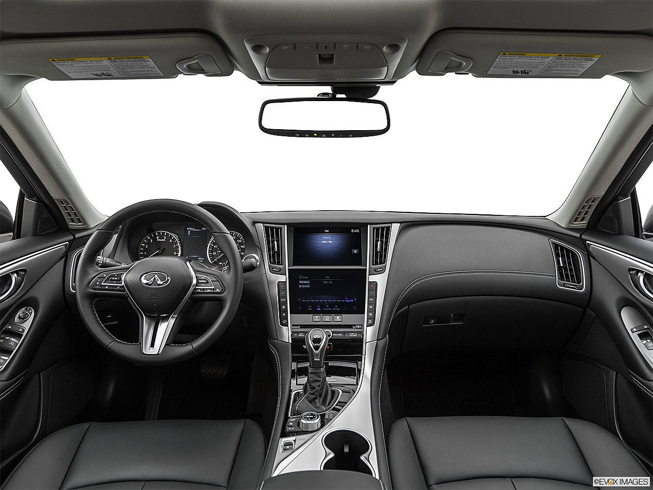 2020 Infiniti Q50 3.0t LUXE, centered wide dash shot