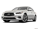 2020 Infiniti Q50 3.0t LUXE, front angle view, low wide perspective.
