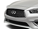2020 Infiniti Q50 3.0t LUXE, close up of grill.