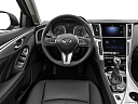2020 Infiniti Q50 3.0t LUXE, steering wheel/center console.