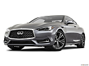 2020 Infiniti Q60 3.0t LUXE, front angle view, low wide perspective.
