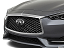 2020 Infiniti Q60 3.0t LUXE, close up of grill.