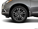 2020 Infiniti QX60 Luxe, front drivers side wheel at profile.