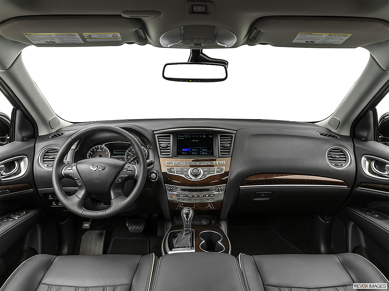 2020 Infiniti QX60 Luxe, centered wide dash shot