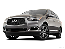 2020 Infiniti QX60 Luxe, front angle view, low wide perspective.