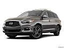 2020 Infiniti QX60 Luxe, front angle medium view.