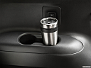 2020 Infiniti QX60 Luxe, third row side cup holder with coffee prop.