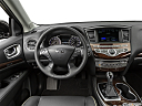 2020 Infiniti QX60 Luxe, steering wheel/center console.