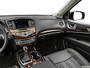 2020 Infiniti QX60 Luxe, center console/passenger side.