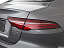2020 Jaguar XE S, passenger side taillight.