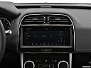 2020 Jaguar XE S, closeup of radio head unit