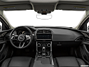 2020 Jaguar XE S, centered wide dash shot