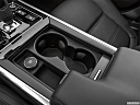 2020 Jaguar XE S, cup holders.