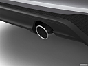 2020 Jaguar XE S, chrome tip exhaust pipe.