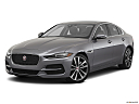 2020 Jaguar XE S, front angle medium view.
