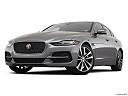 2020 Jaguar XE S, front angle view, low wide perspective.