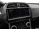 2020 Jaguar XE S, driver position view of navigation system.