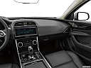 2020 Jaguar XE S, center console/passenger side.