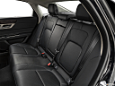 2020 Jaguar XF 30t Prestige, rear seats from drivers side.
