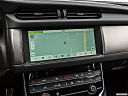 2020 Jaguar XF 30t Prestige, driver position view of navigation system.
