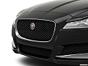 2020 Jaguar XF 30t Prestige, close up of grill.