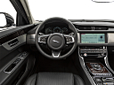 2020 Jaguar XF 30t Prestige, steering wheel/center console.