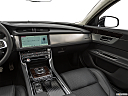 2020 Jaguar XF 30t Prestige, center console/passenger side.