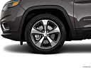 2020 Jeep Cherokee Limited, front drivers side wheel at profile.