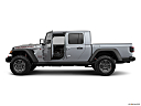 2020 Jeep Gladiator Rubicon, driver's side profile with drivers side door open.