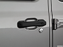2020 Jeep Gladiator Rubicon, drivers side door handle.