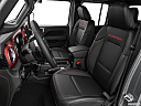 2020 Jeep Gladiator Rubicon, front seats from drivers side.