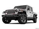 2020 Jeep Gladiator Rubicon, front angle view, low wide perspective.