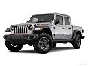 2020 Jeep Gladiator Rubicon, front angle medium view.