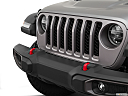 2020 Jeep Gladiator Rubicon, close up of grill.