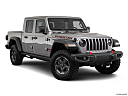 2020 Jeep Gladiator Rubicon, front passenger 3/4 w/ wheels turned.