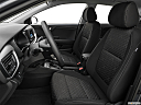 2020 Kia Rio S, front seats from drivers side.