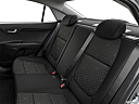 2020 Kia Rio S, rear seats from drivers side.