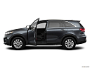 2020 Kia Sorento LX, driver's side profile with drivers side door open.