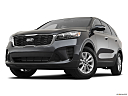 2020 Kia Sorento LX, front angle view, low wide perspective.
