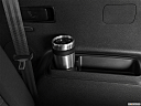 2020 Kia Sorento LX, third row side cup holder with coffee prop.