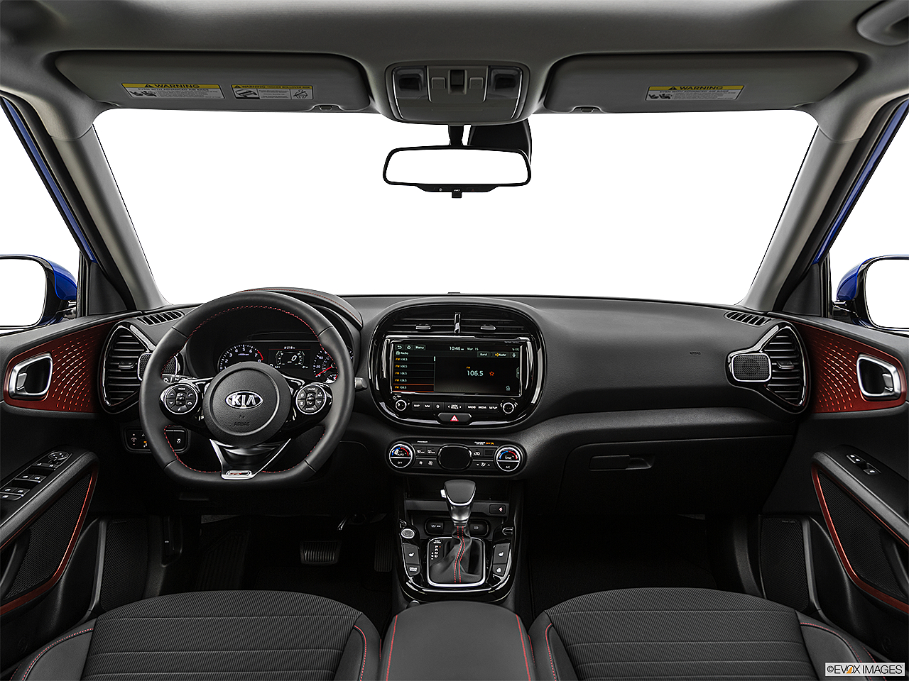 2020 Kia Soul GT-Line Turbo, centered wide dash shot
