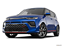 2020 Kia Soul GT-Line Turbo, front angle view, low wide perspective.