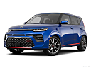 2020 Kia Soul GT-Line Turbo, front angle medium view.
