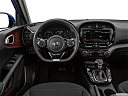 2020 Kia Soul GT-Line Turbo, steering wheel/center console.