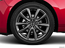 2020 Mazda MAZDA3 w/ Preferred Package, front drivers side wheel at profile.